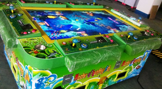 Golden soriya 4am drunks and addictive arcade games for How to play fish table game